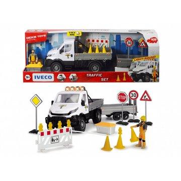 Dickie - Pojazd Play Life Zestaw nadzoru ruchu drogowego 41.5 cm