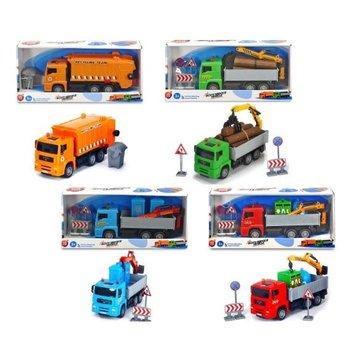 Dickie - Pojazdy Heavy City Truck, 22 cm, 4 rodzaje