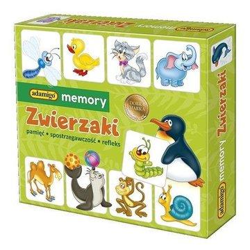 Adamigo - Gra Memory Zwierzaki