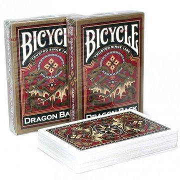 Bicycle - Karty Gold Dragon Back