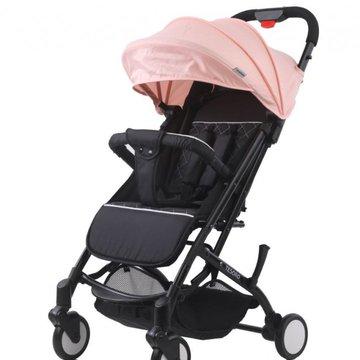 Tesoro - Wózek spacerowy A8 Oxford black/Lotus pink