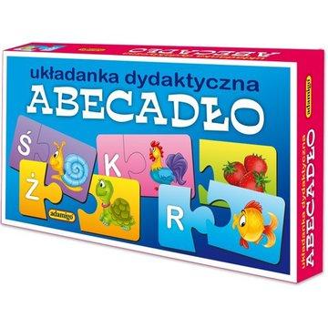 Adamigo - Układanka puzzlowa Abecadło