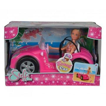 Simba - Lalka Steffi w letnim samochodzie