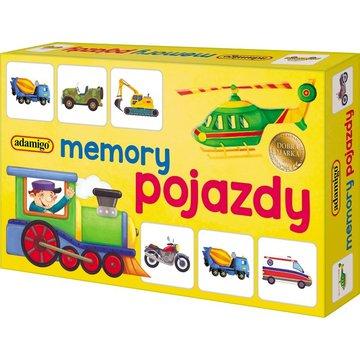Adamigo - Memory mini - pojazdy