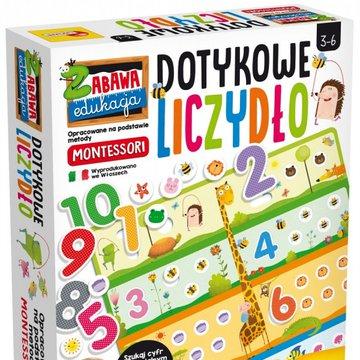 Lisciani - Liczydło Montessori Dotykowe