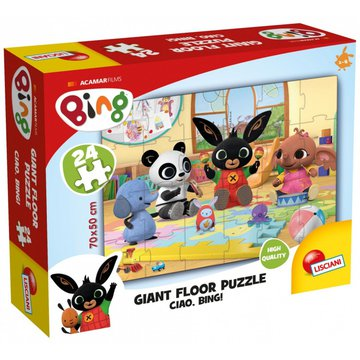 Lisciani - Puzzle Ogromne puzzle podłogowe 2 Bing