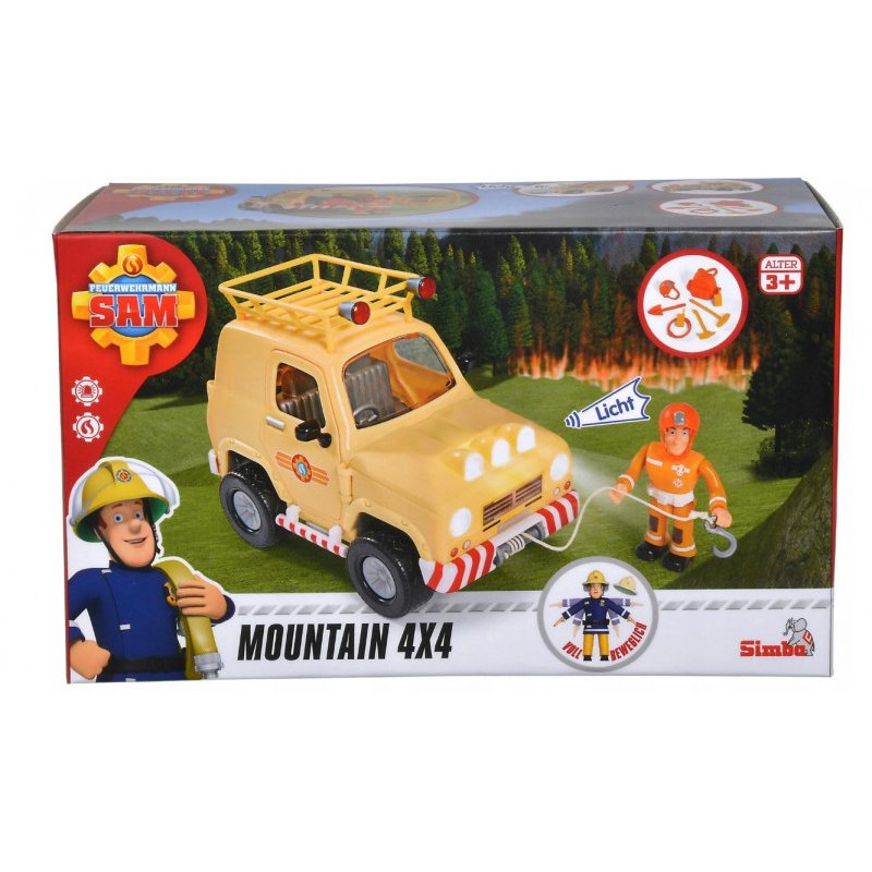 Dickie - Pojazd Strażak Sam Jeep ratunkowy