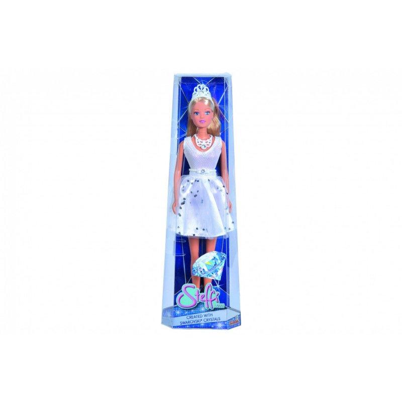 Simba - Lalka Steffi w krótkiej sukni z kryształami