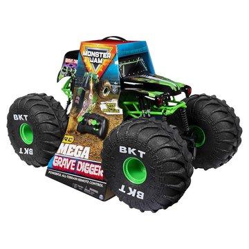 Spin Master - Pojazd RC Monster Jam: Mega Grave Digger