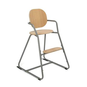 Charlie Crane Krzesełko do karmienia Tibu buk Cool Grey CHARLIE CRANE
