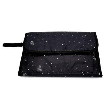 My Bag's Przewijak podróżny Confetti Black MY BAG'S