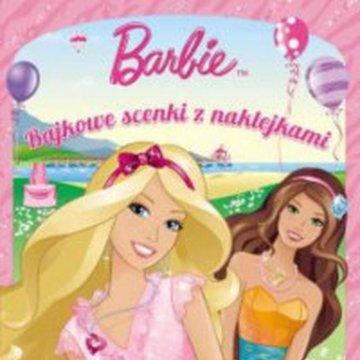 Książka Barbie I can be.. Bajkowe scenki z naklejkami. AMEET Ameet
