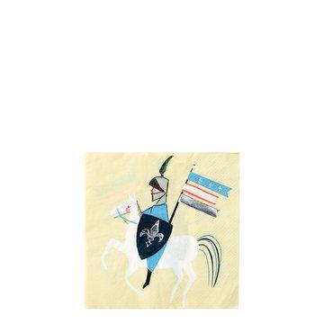 Meri Meri - Małe serwetki Rycerze
