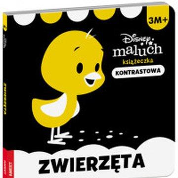Ameet - Disney maluch. Książeczka kontrastowa. Zwierzęta