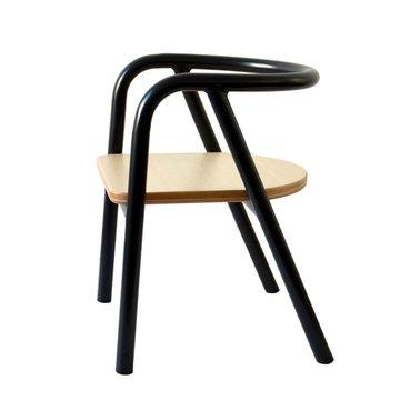 Charlie Crane Krzesełko dziecięce Hito Black CHARLIE CRANE