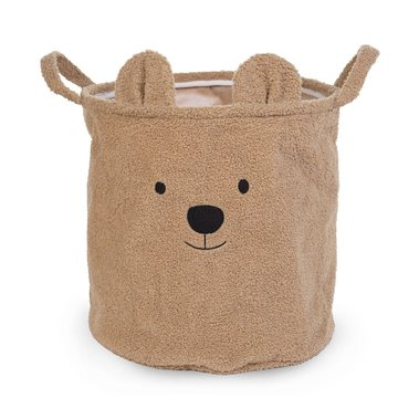 Childhome Pluszowy pojemnik na zabawki 40 x 40 x 40 cm Teddy Bear CHILDHOME