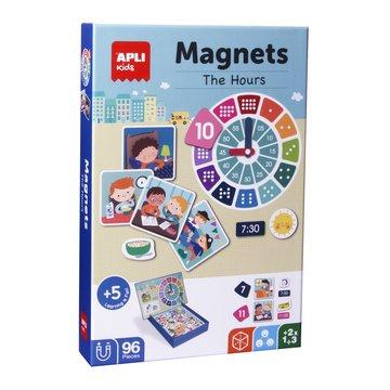 Magnetyczna układanka Apli Kids - Godziny