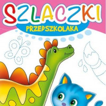 Krzesiek - Szlaczki Przedszkolaka. Dinozaur
