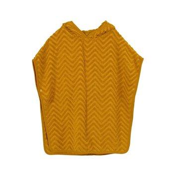 Filibabba Poncho Zigzag Golden Mustard FILIBABBA