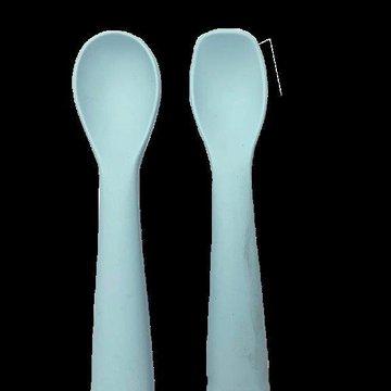 Bo Jungle - B-Łyżeczki silikonowe 2 szt. Blue mint