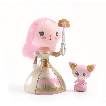 Djeco - Figurka ksiniczki Candy i sodziak DJ06781