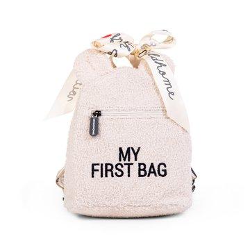 Childhome Plecak dziecięcy My First Bag Teddy Bear White (Limited Edition) CHILDHOME