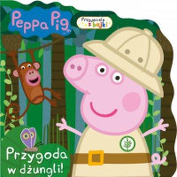Media Service Zawada - Peppa Pig. Przyjaciele z bajki.Przygoda w dżungli!