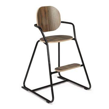 Charlie Crane Krzesełko do karmienia Tibu orzech włoski Black Edition CHARLIE CRANE