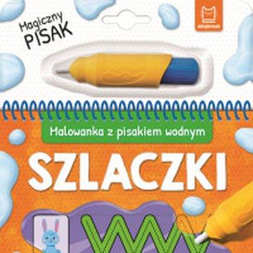 Aksjomat - Szlaczki. Malowanka z pisakiem wodnym