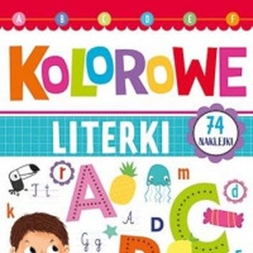Books And Fun - Kolorowe literki