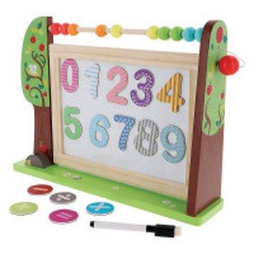 Tablica bystrzaka przedszkolaka. Zabawka drewniana 61401 TREFL Trefl