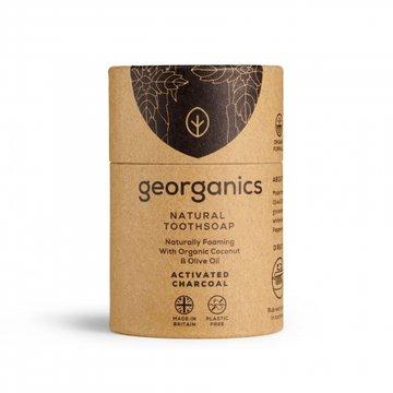 Georganics, Mydło do czyszczenia zębów, Activated Charcoal, 60 ml GEORGANICS