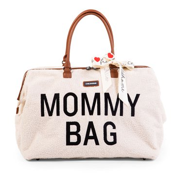 Childhome Torba Mommy Bag Teddy Bear White (Limited Edition) CHILDHOME