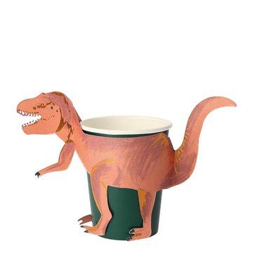 Meri Meri - Kubeczki T-Rex Królestwo dinozaurów