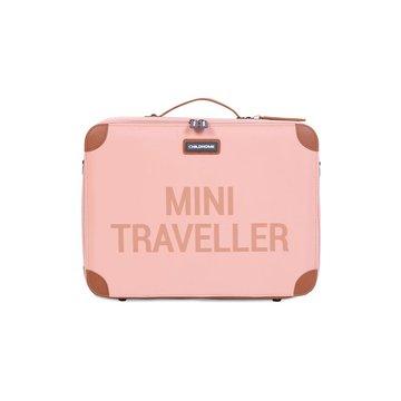 Childhome Walizka dziecięca Mini Traveller Różowa CHILDHOME