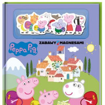 Media Service Zawada - Peppa Pig. Zabawy z magnesami. Na szlaku z Peppą.