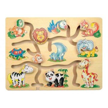 Woody - Przesuwanka Dopasuj Fantastyczne Zwierzęta