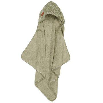 Little Dutch Bawełniany ręcznik Wild Flowers Oliwka TE50621011