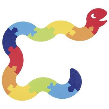 Goki - Puzzle podłogowe filcowe - Wąż