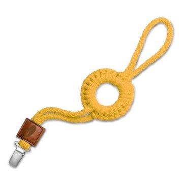 Hi Little One - sznurkowa zawieszka z kółkiem do smoczka Pacifier holder with RING Pineapple