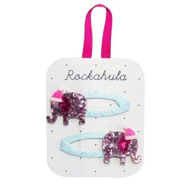 Rockahula Kids - spinki do włosów Santa Elephant