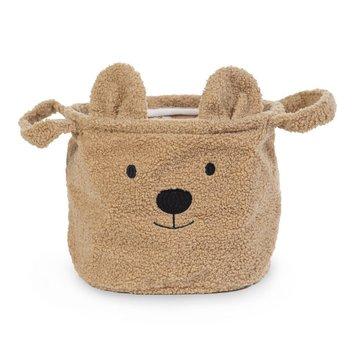 Childhome Pluszowy pojemnik na zabawki 25 x 20 x 20 cm Teddy Bear CHILDHOME