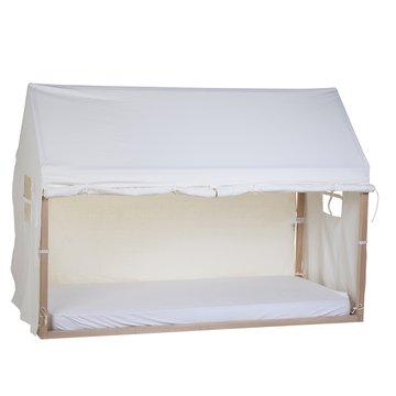 Childhome Pokrowiec do ramy Tipi Domek 90 x 200 cm White CHILDHOME