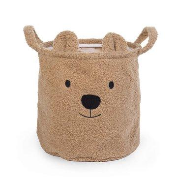 Childhome Pluszowy pojemnik na zabawki 30 x 30 x 30 cm Teddy Bear CHILDHOME