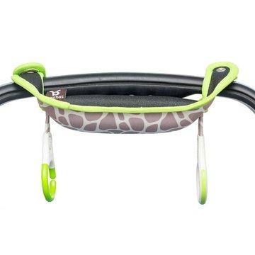 Benbat - Nakładka na rączkę fotelika samochodowego - Gray/Green