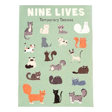Tatuaże zmywalne dla dzieci, Koty, Rex London