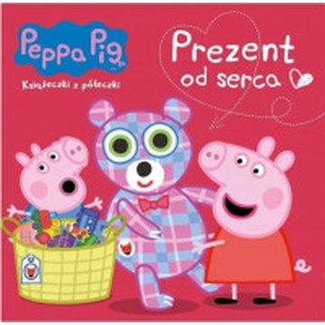 Media Service Zawada - Peppa Pig. Książeczki z półeczki. Prezent od serca