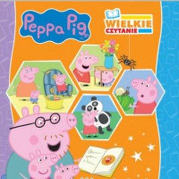 Media Service Zawada - Peppa Pig. Wielkie czytanie. Wesołe bajki o Peppie