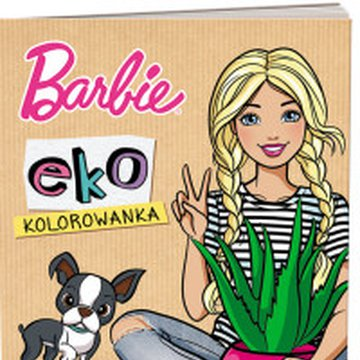 Ameet - Barbie. Kolorowanka EKO