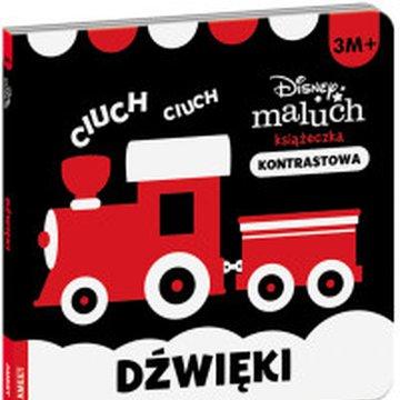 Ameet - Disney Maluch. Książeczka kontrastowa. Dźwięki